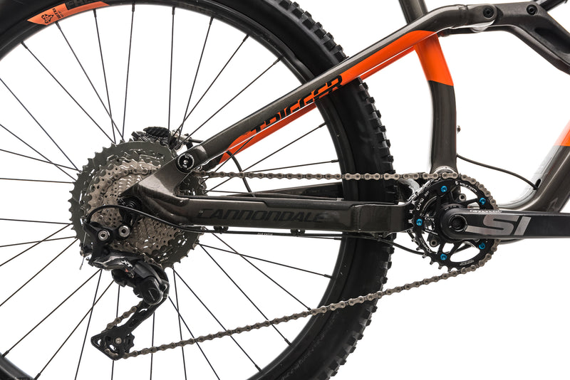 Cannondale Trigger Carbon 3 Mountain Bike - 2018, Large drivetrain