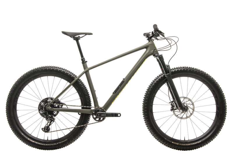 Specialized Fuse Comp Carbon 29/6 Fattie Mountain Bike - 2019, Large drive side