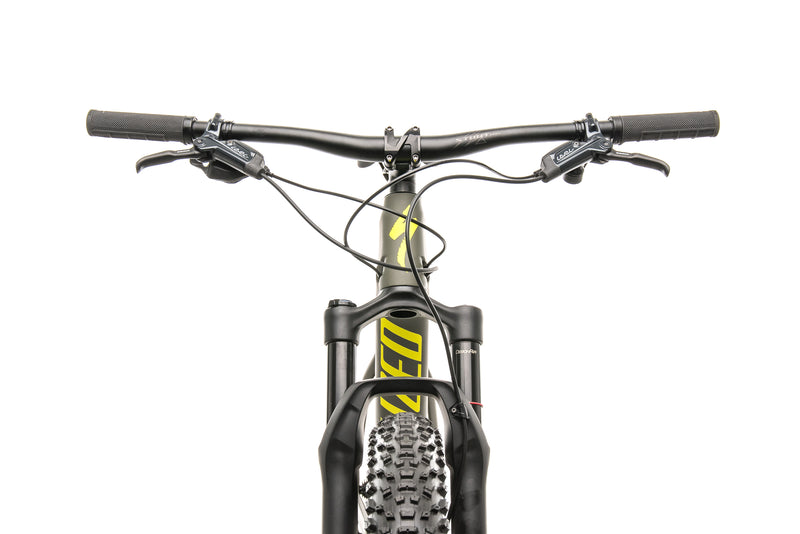 Specialized Fuse Comp Carbon 29/6 Fattie Mountain Bike - 2019, Large cockpit