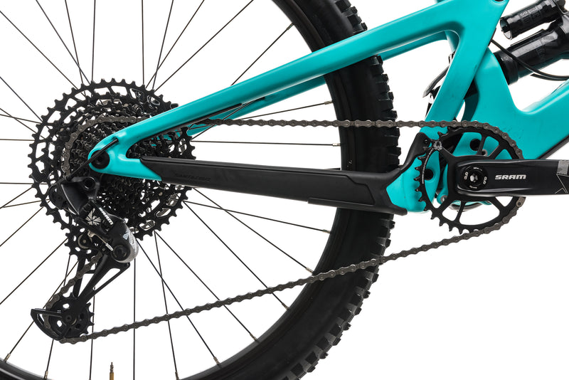 Santa Cruz Bronson C Mountain Bike - 2019, Large drivetrain