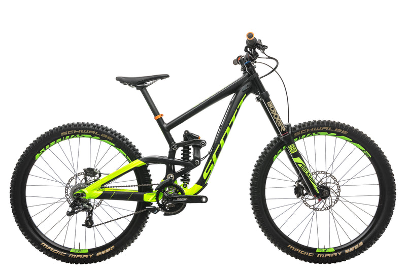 Scott Gambler 730 Downhill Bike - 2017, Small drive side