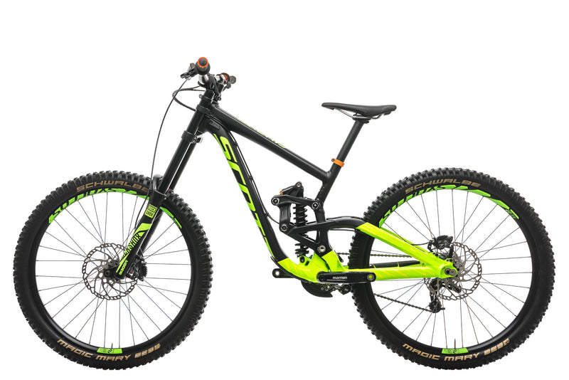 Scott Gambler 730 Downhill Bike - 2017, Small non-drive side