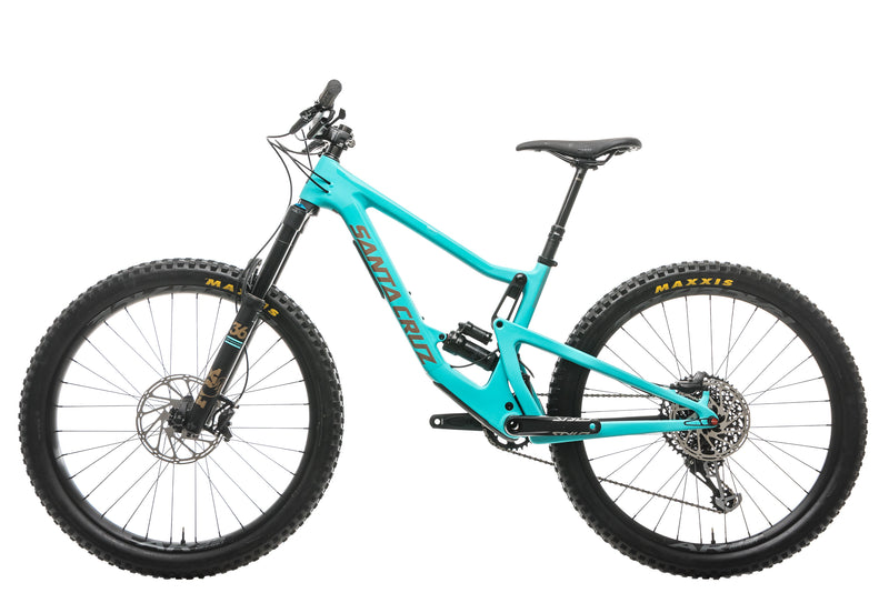 Santa Cruz Bronson C S Mountain Bike - 2019, Small non-drive side