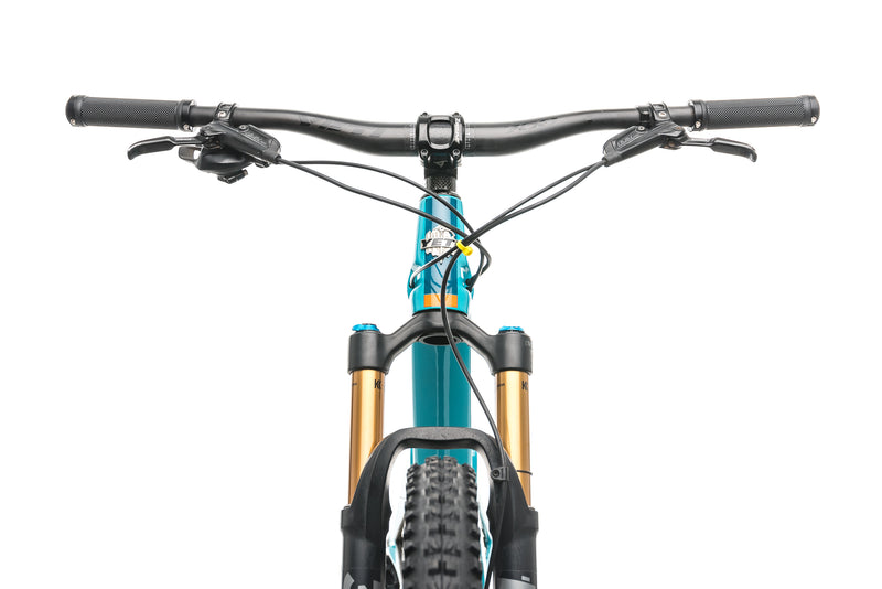Yeti SB100 X01 Turq Mountain Bike - 2019, Large crank
