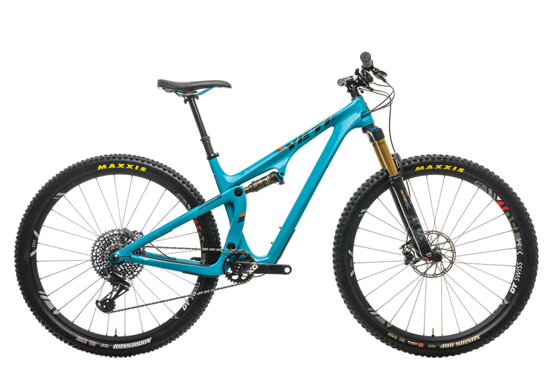 Yeti SB100 Turq Mountain Bike - 2019, Medium drive side