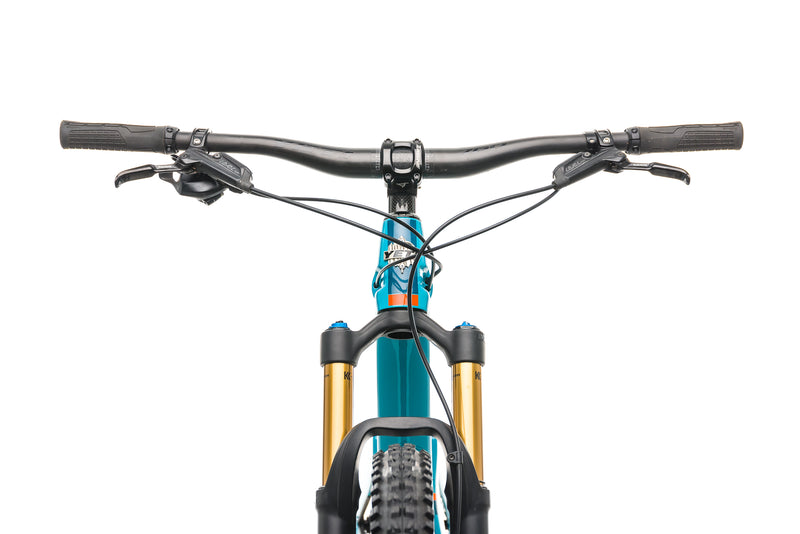 Yeti SB100 Turq Mountain Bike - 2019, Medium crank