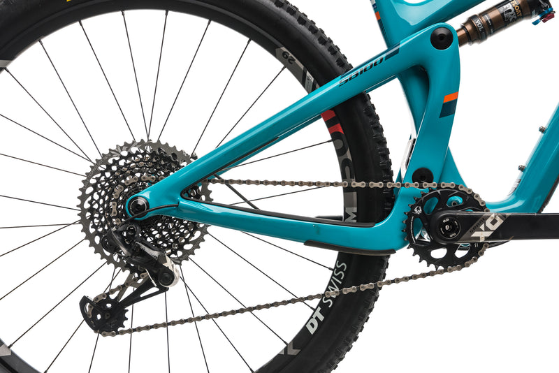 Yeti SB100 Turq Mountain Bike - 2019, Medium drivetrain