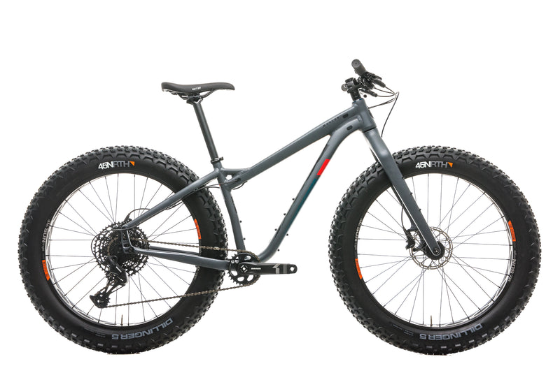 Salsa Mukluk Fat Bike - 2020, Small drive side