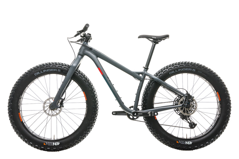 Salsa Mukluk Fat Bike - 2020, Small non-drive side