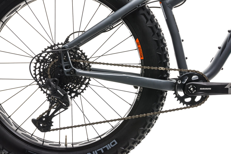 Salsa Mukluk Fat Bike - 2020, Small drivetrain