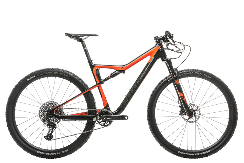 Cannondale Scalpel-Si Carbon 2 Mountain Bike - 2018, Large drive side