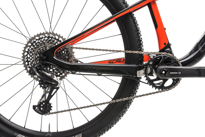 Cannondale Scalpel-Si Carbon 2 Mountain Bike - 2018, Large drivetrain
