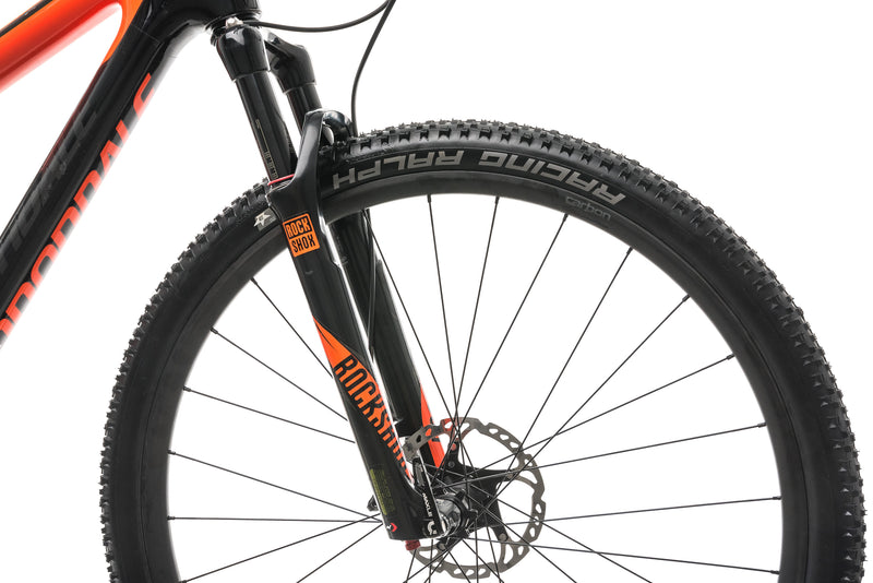 Cannondale Scalpel-Si Carbon 2 Mountain Bike - 2018, Large cockpit