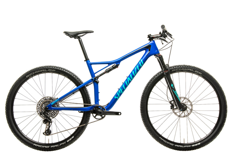 Specialized Epic Pro Mountain Bike - 2018, Large drive side