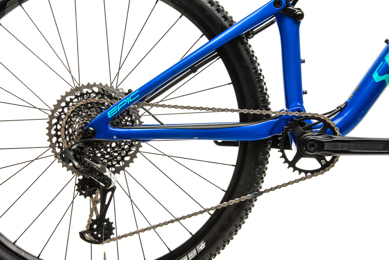 Specialized Epic Pro Mountain Bike - 2018, Large drivetrain