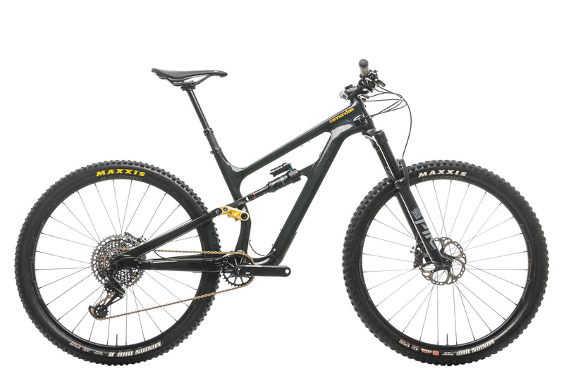 Cannondale Habit Carbon 2 Mountain Bike - 2020, Medium drive side
