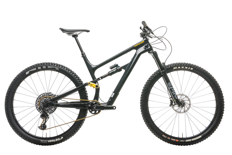 Cannondale Habit Carbon 2 Mountain Bike - 2020, Large drive side