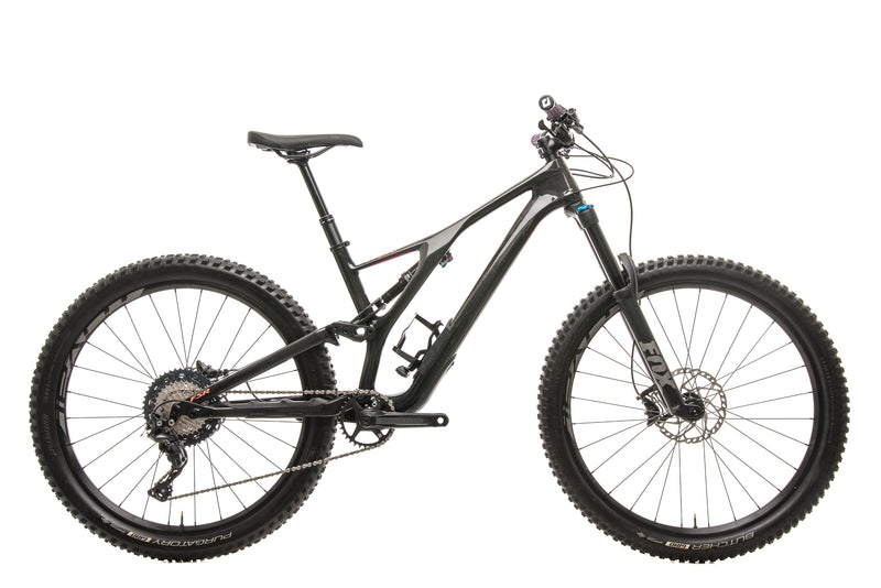 Specialized Stumpjumper Comp Carbon 27.5 Womens Mountain Bike - 2019, Medium drive side