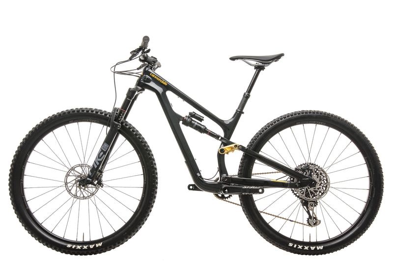Cannondale Habit Carbon 2 Mountain Bike - 2020, Small non-drive side