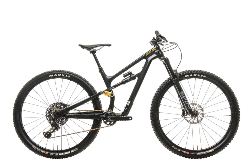 Cannondale Habit Carbon 2 Mountain Bike - 2020, Small drive side