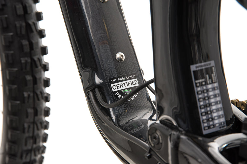 Cannondale Habit Carbon 2 Mountain Bike - 2020, Small sticker