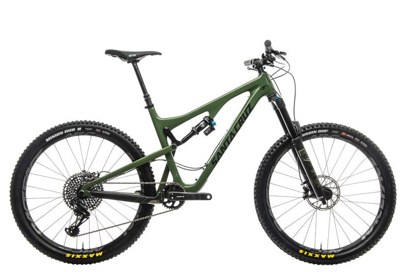 Santa Cruz Bronson CC X01 Mountain Bike - 2018, Large drive side