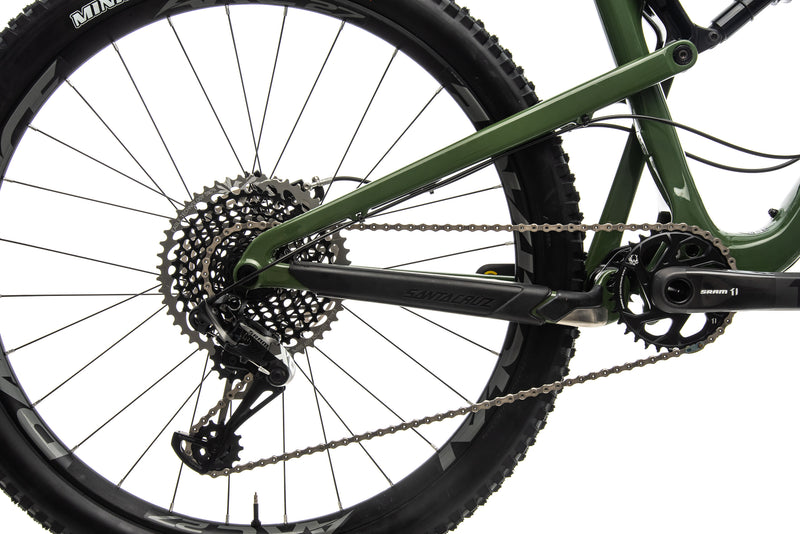 Santa Cruz Bronson CC X01 Mountain Bike - 2018, Large drivetrain