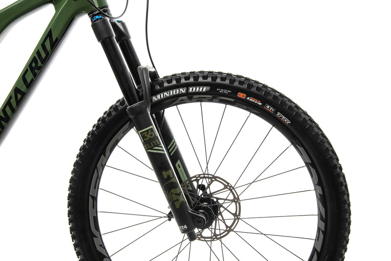 Santa Cruz Bronson CC X01 Mountain Bike - 2018, Large cockpit