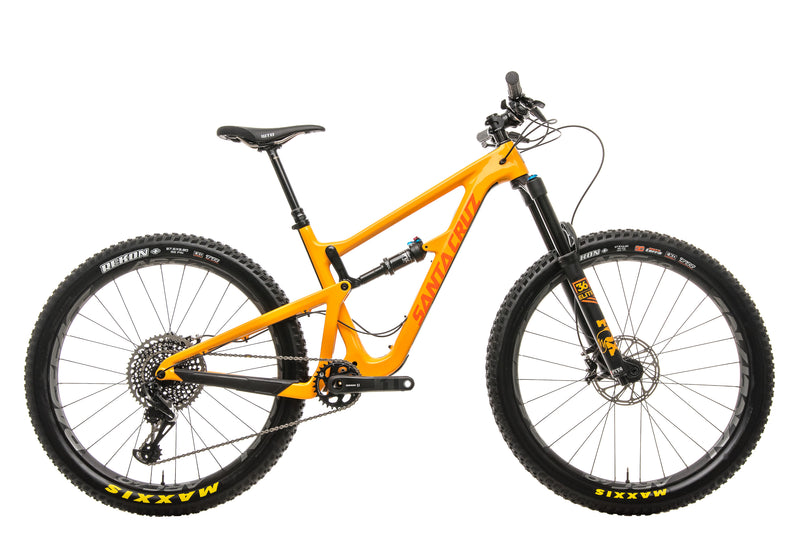Santa Cruz Hightower CC X01 27.5+ Mountain Bike - 2018, Medium drive side