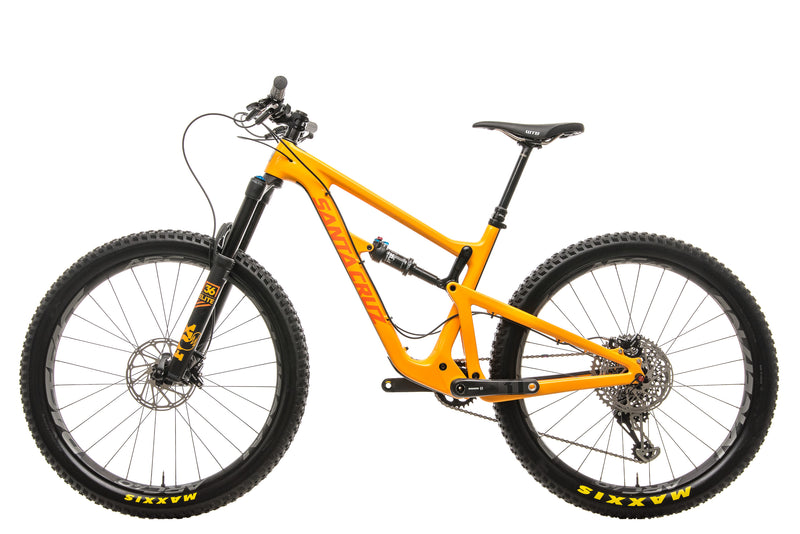 Santa Cruz Hightower CC X01 27.5+ Mountain Bike - 2018, Medium non-drive side
