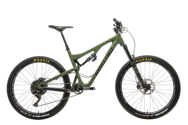 Santa Cruz Bronson C Mountain Bike - 2018, Large drive side