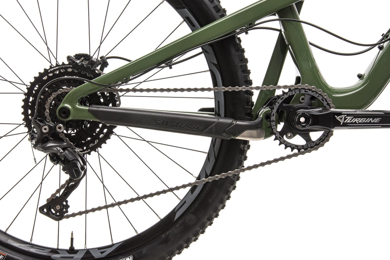 Santa Cruz Bronson C Mountain Bike - 2018, Large drivetrain