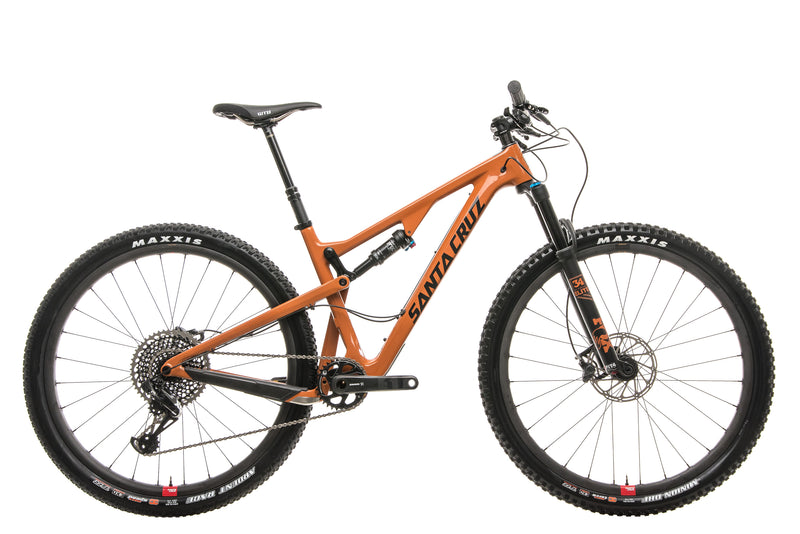 Santa Cruz Tallboy Carbon CC X01 Reserve Mountain Bike - 2018, Medium drive side