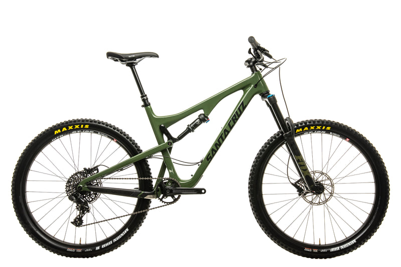 Santa Cruz Bronson C R Mountain Bike - 2018, Large drive side