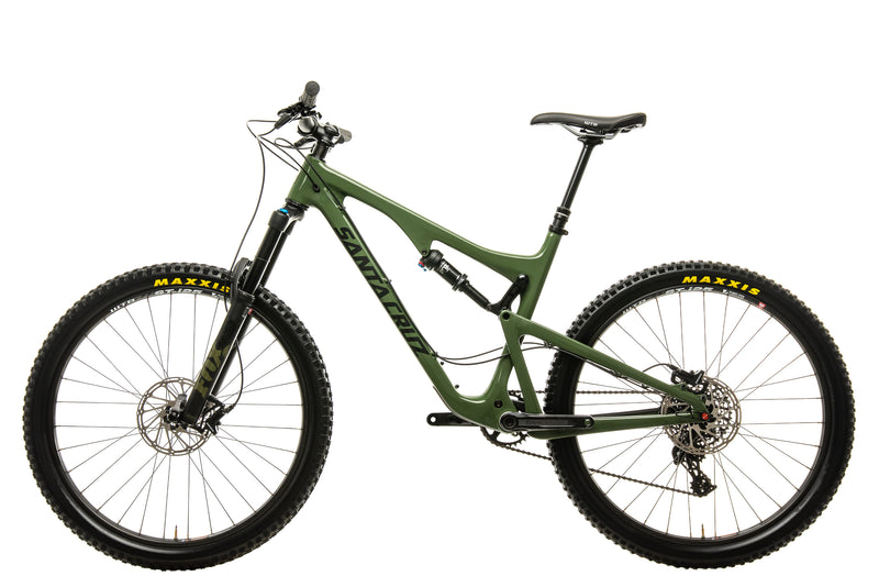 Santa Cruz Bronson C R Mountain Bike - 2018, Large non-drive side