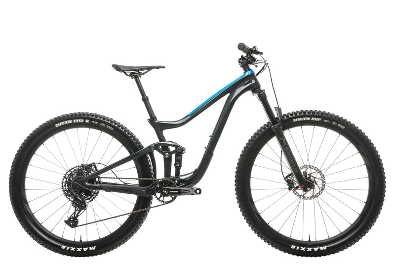 Giant Trance Advanced Pro 29 3 Mountain Bike - 2020, Small drive side