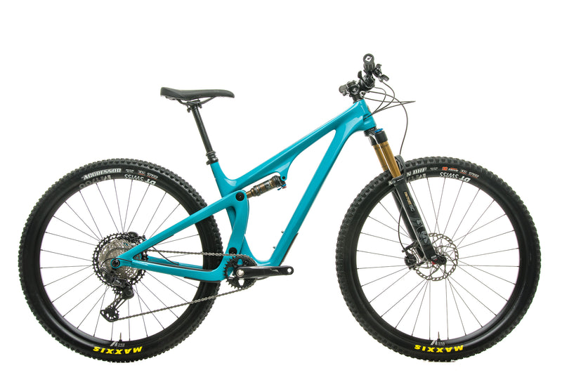 Yeti SB100 Turq T1 Mountain Bike - 2020, Medium drive side