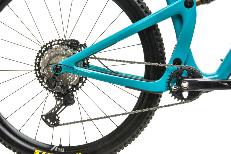 Yeti SB100 Turq T1 Mountain Bike - 2020, Medium drivetrain