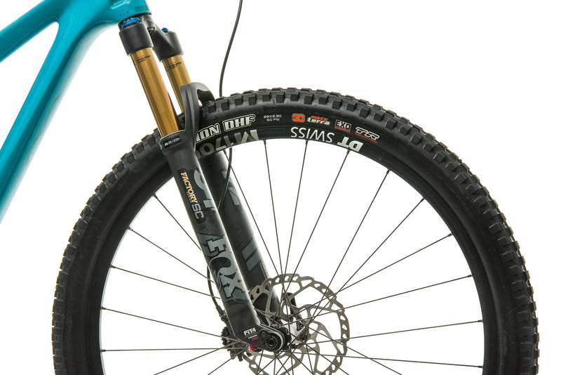 Yeti SB100 Turq T1 Mountain Bike - 2020, Medium cockpit