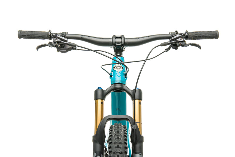 Yeti SB100 Turq T1 Mountain Bike - 2020, Medium crank