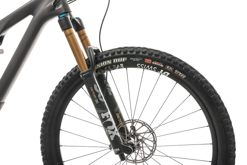 Yeti SB130 Turq T2 Mountain Bike - 2020, Large cockpit