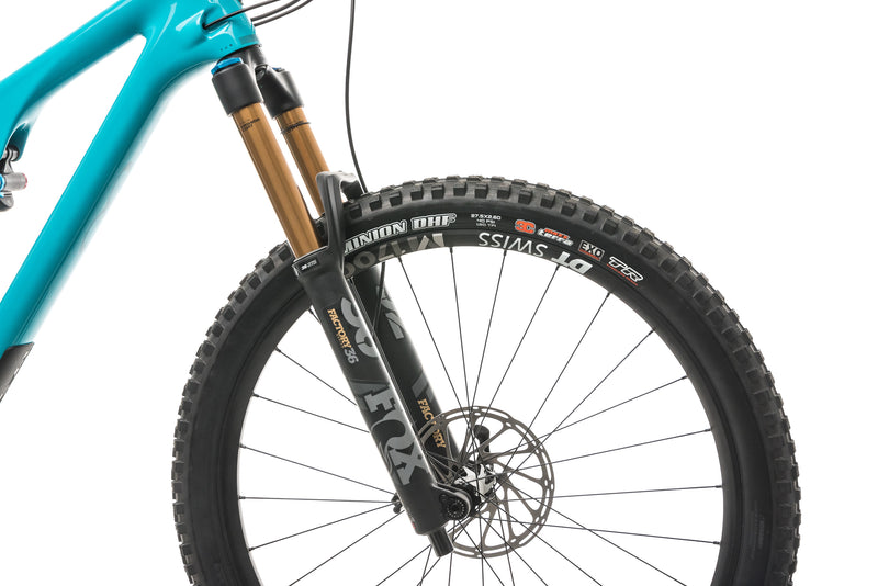 Yeti SB140 Turq T2 Mountain Bike - 2020, Large cockpit