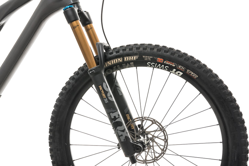 Yeti SB140 Turq T2 Mountain Bike - 2020, X-Large cockpit