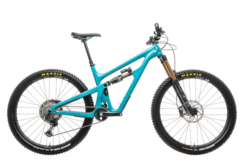 Yeti SB150 Turq T1 Mountain Bike - 2020, Large drive side