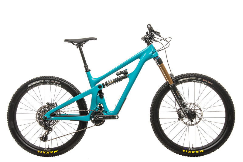 Yeti SB165 Turq T2 Mountain Bike - 2020, Medium drive side