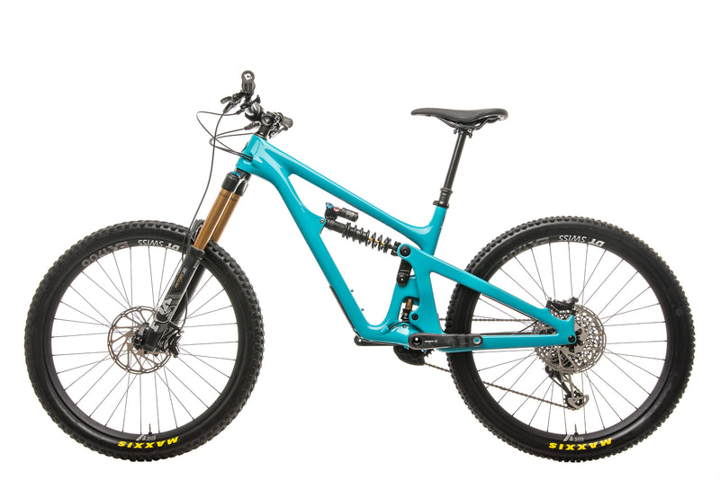 Yeti SB165 Turq T2 Mountain Bike - 2020, Medium non-drive side