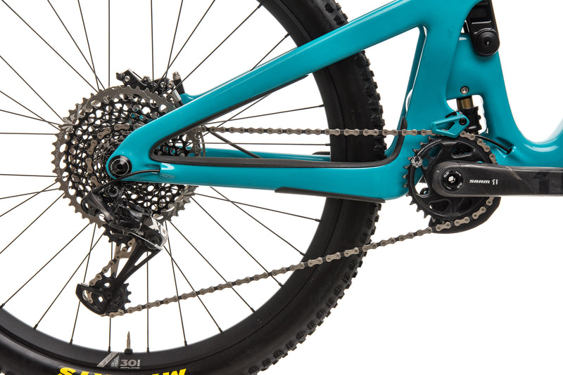 Yeti SB165 Turq T2 Mountain Bike - 2020, Medium drivetrain