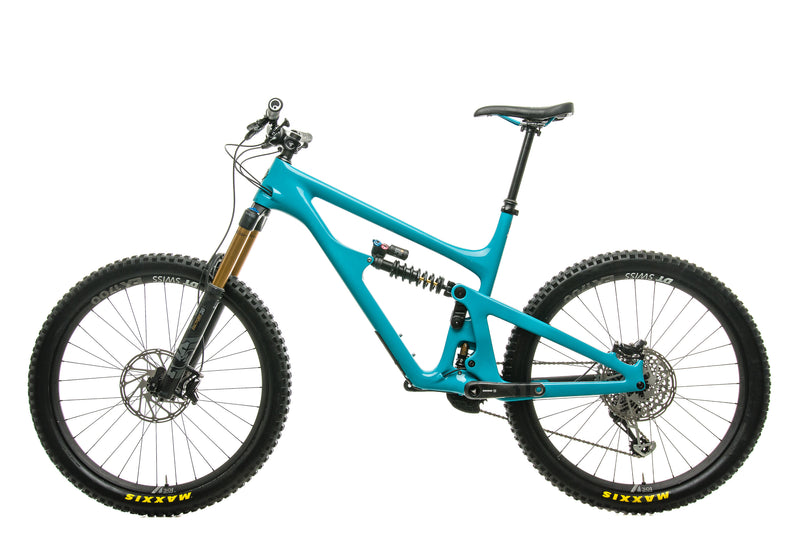 Yeti SB165 Turq T2 Mountain Bike - 2020, X-Large non-drive side