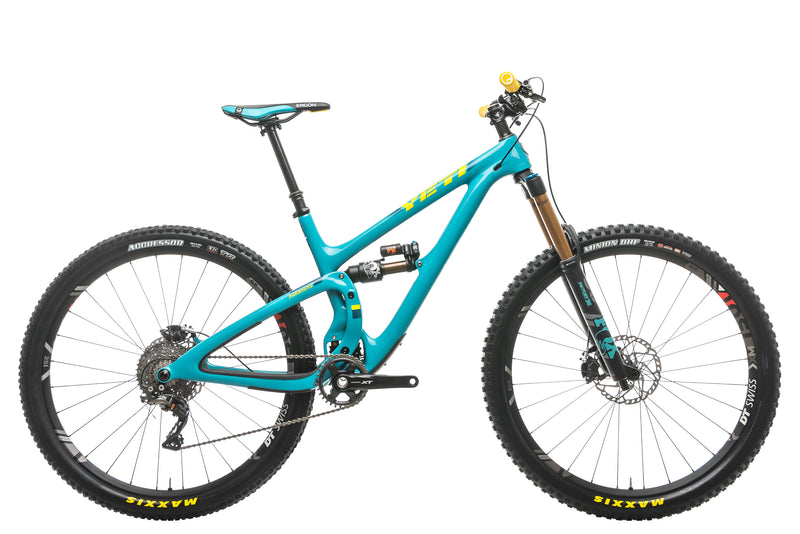 Yeti SB5.5 Turq Team Race Mountain Bike - 2018, Medium drive side