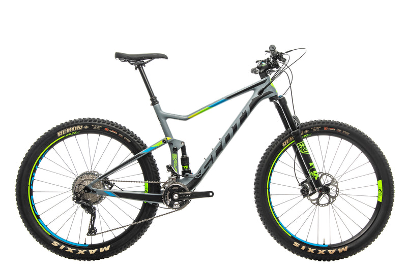 Scott Spark 710 Plus Mountain Bike - 2017, Large drive side
